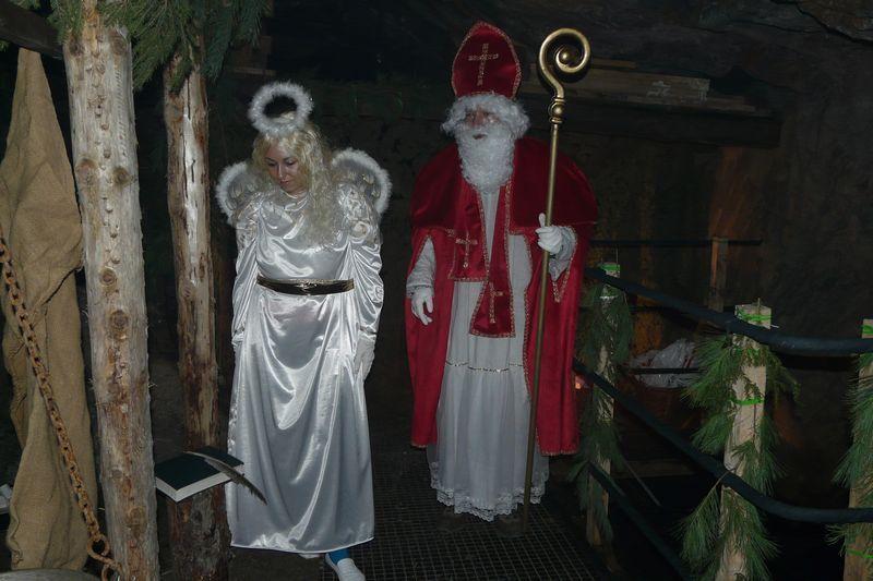 Hornický skanzen Stříbro - Mikuláš ve štole Prokop