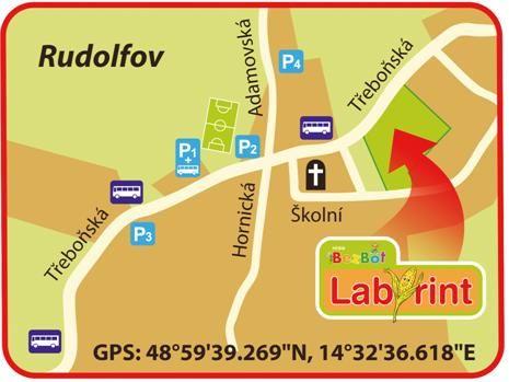 Hřiště BezBot České Budějovice - Labyrint