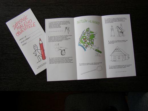 Betlém Hlinsko - Specializované prohlídky pro školy