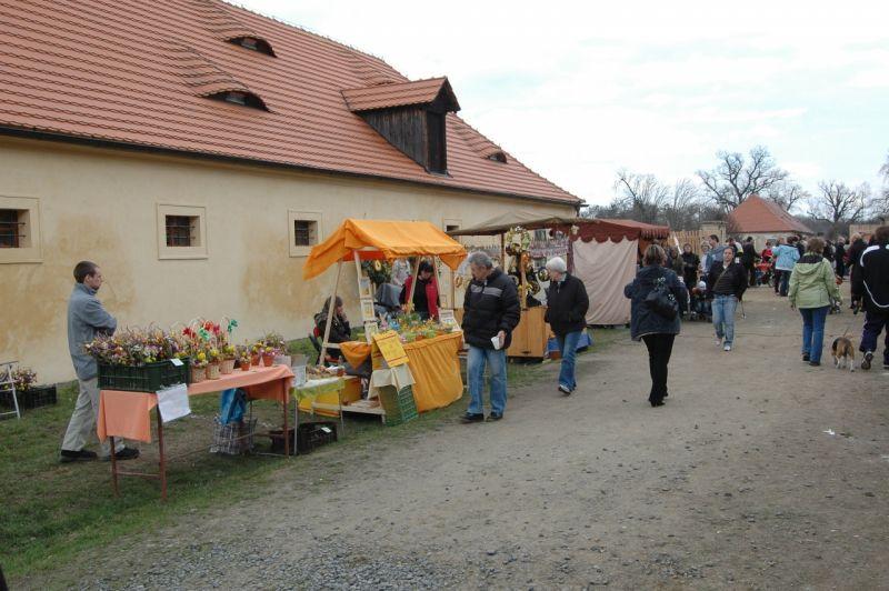 Zámek Veltrusy - Velikonoce na zámku