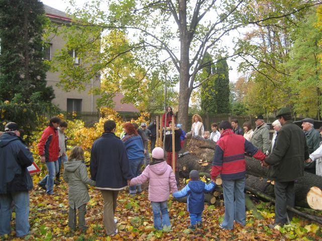 Zámek Potštejn - Den stromů v zámeckém parku