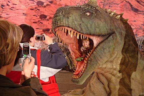 Kam s dětmi do dinoparku - Praha