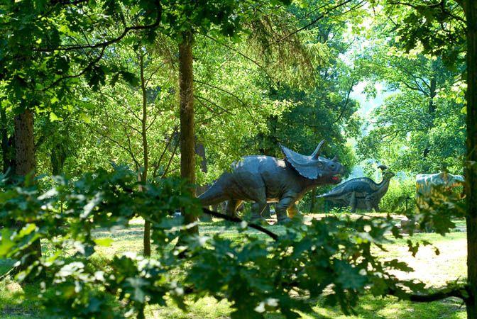 Kam s dětmi do dinoparku