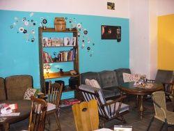 Zajíček na koni, Praha - Kavárna pro handicapované