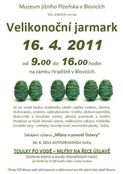 Zámek Hradiště - Muzeum jižního Plzeňska - Velikonoční jarmark