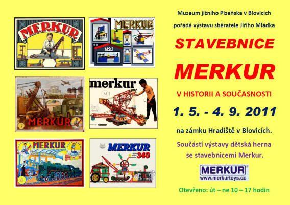 Zámek Hradiště - Muzeum jižního Plzeňska - Stavebnice Merkur v historii a současnosti