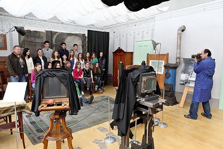 Museum Fotoateliér Seidel, Český Krumlov - Interaktivní prohlídky pro školy (ZŠ a SŠ)