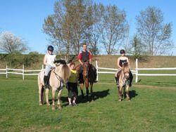 ZooPark Zelčín - Výuka jízdy na koni