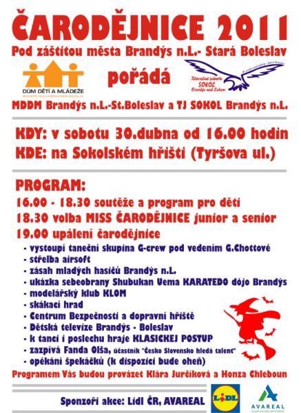 Brandýs nad Labem - Čarodějnice 2011