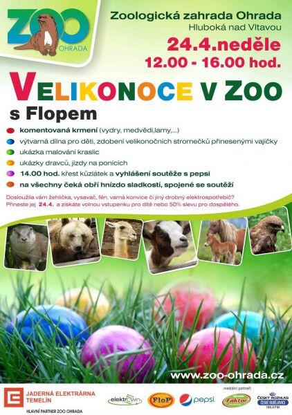 Zoo Ohrada - Velikonoce v ZOO