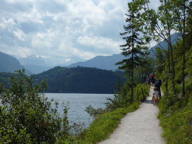 Rodinný výlet - Kolem jezera Altaussee