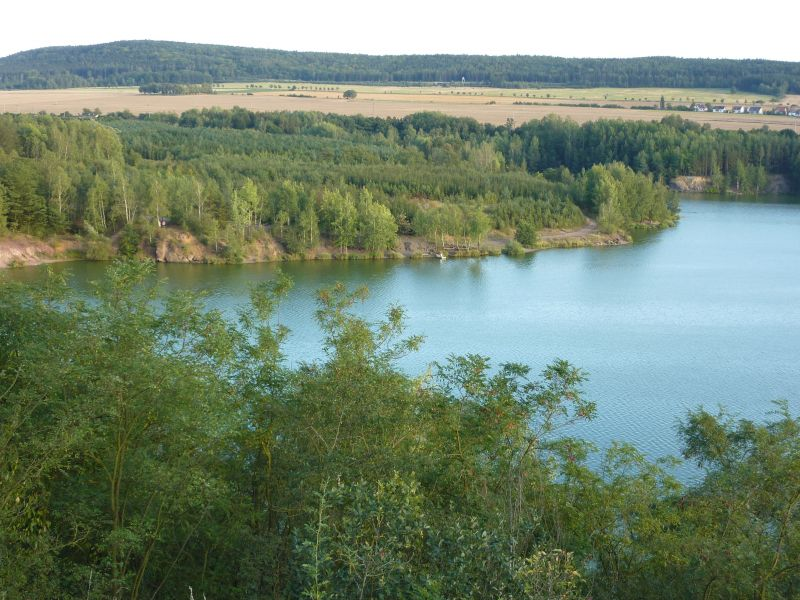 Cyklovýlet v okolí Plzně: Ejpovické jezírko - koupaliště Nová Huť