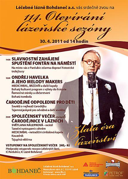 Lázně Bohdaneč - Otevírání sezóny