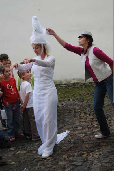Oživené prohlídky historického centra Plzně pro rodiny s dětmi