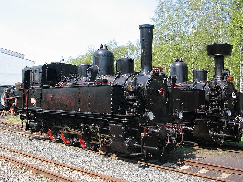 Železniční muzeum Lužná - Dětský den v železničním muzeu