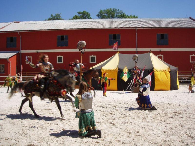 Zámek Dětenice - Rytířské turnaje