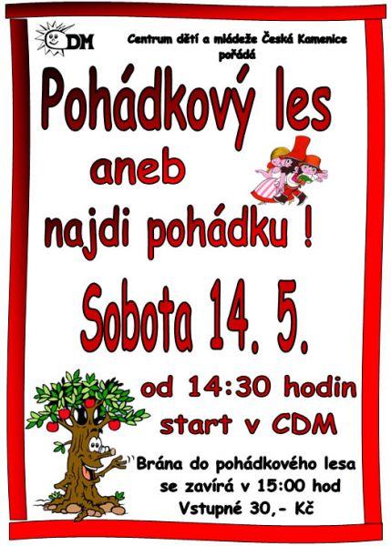 CDM Česká Kamenice - Pohádkový les