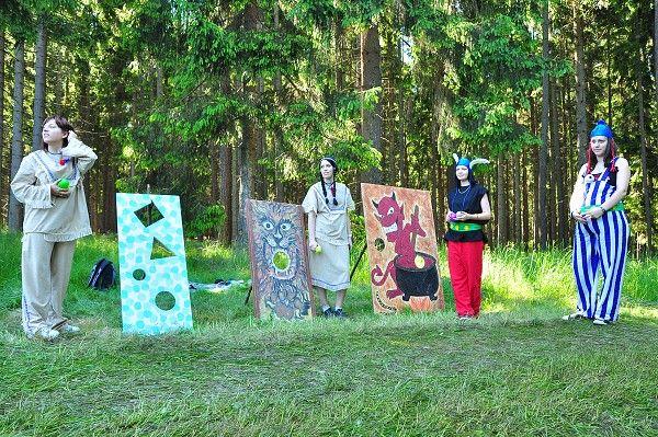 Jemnice - Večerníčkův pohádkový les 2011