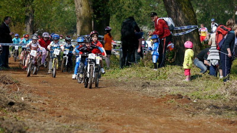 Mladá Boleslav - Cyklistické závody Kolo pro život - dětský program Junior Trophy