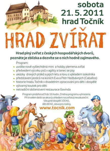 Hrad Točník - Hrad zvířat