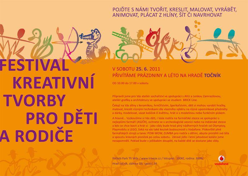 Hrad Točník - Taková tvořivá rodinka - festival kreativity, představivosti a fantazie