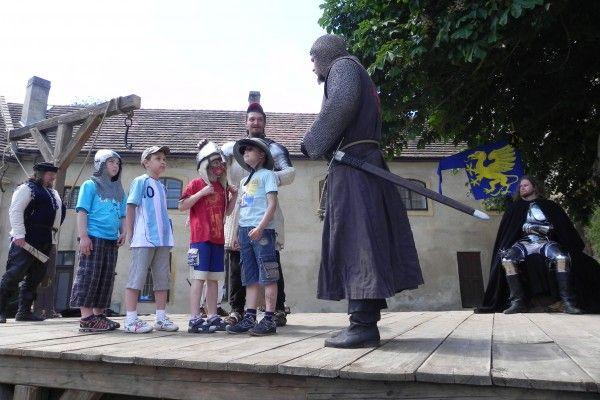 Staré Hrady u Jičína - Středověké soboty na hradě
