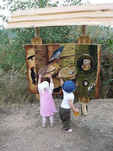 Naučná stezka pro rodiny s dětmi na rozhlednu Klucanina