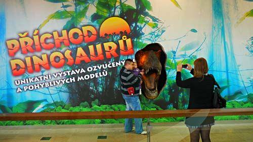 Dinopark Praha - Vstup pro dítě do 15 let zdarma