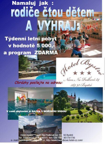 Hotel Bystré - Velká letní soutěž o týdenní letní pobyt