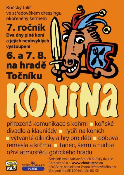 Hrad Točník - Konina aneb svět očima koní