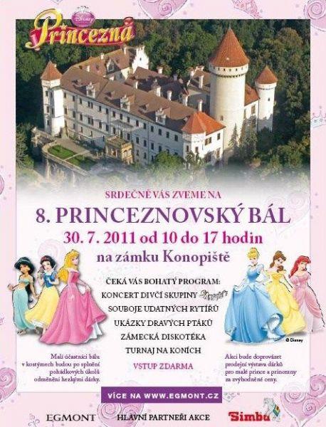 Zámek Konopiště - Princeznovský bál
