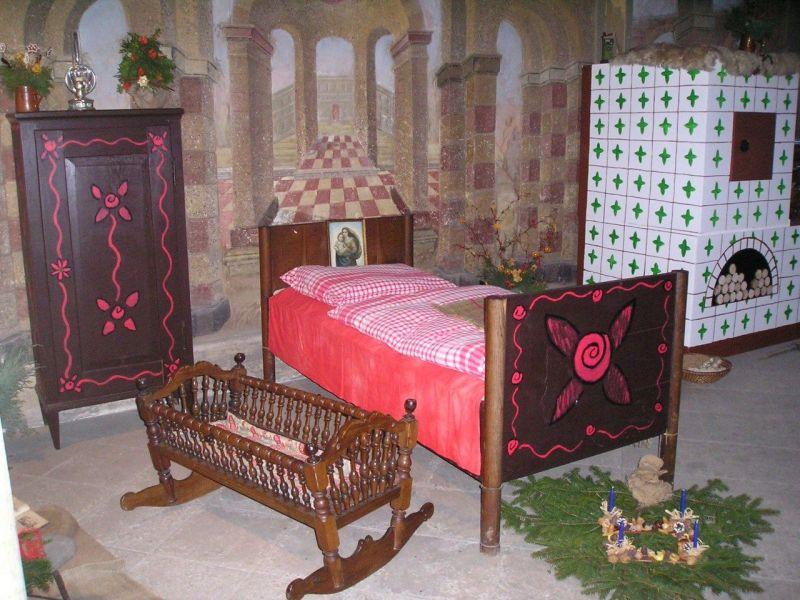 Zámek Libochovice - Výstava betlémů