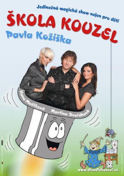 Divadlo kouzel Pavla Kožíška - Škola kouzel