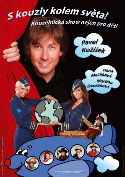 Divadlo kouzel Pavla Kožíška - S kouzly kolem světa!