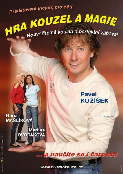 Divadlo kouzel Pavla Kožíška - Hra kouzel a magie