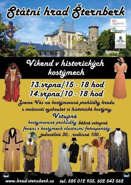 Hrad Šternberk - Víkend v historických kostýmech 2011