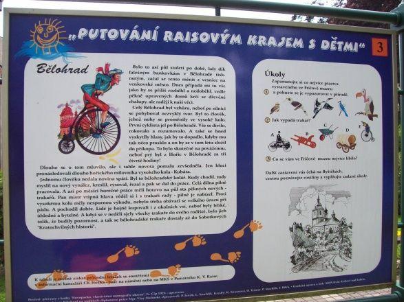 Naučná stezka Putování Raisovým krajem s dětmi