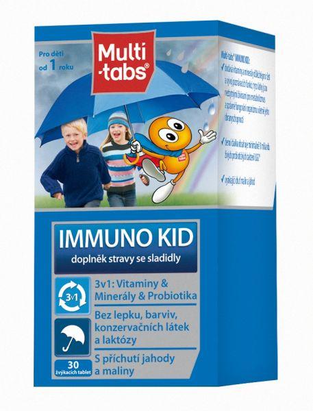 Bojíte se, že budou děti nemocné? Vitaminy kombinujte s probiotiky v jednom přípravku