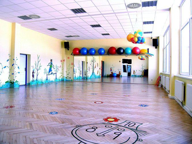 Cvičení dětí a rodičů