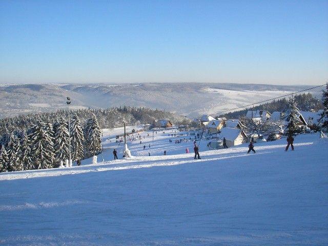 Ski areál Hořice - Blansko