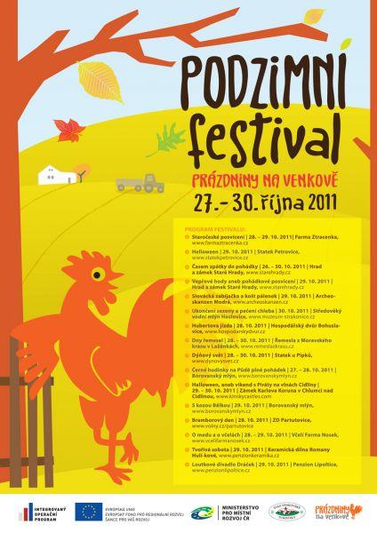 """Prázdniny na venkově: """"Navštivte podzimní festival!"""""""