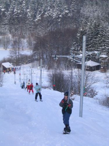 Ski areál Svatá Anna