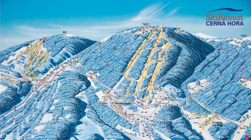 Ski areál Janské Lázně - Černá hora