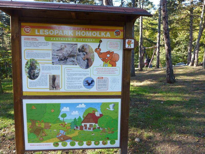 Naučná stezka Homolka Plzeň