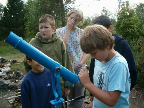 Astronomické víkendy pro děti v Hvězdárně Karlovy Vary