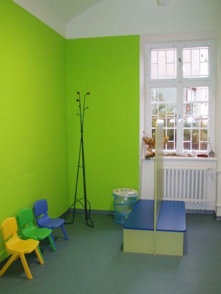 Studio pro rodinu Kroužek - šatna
