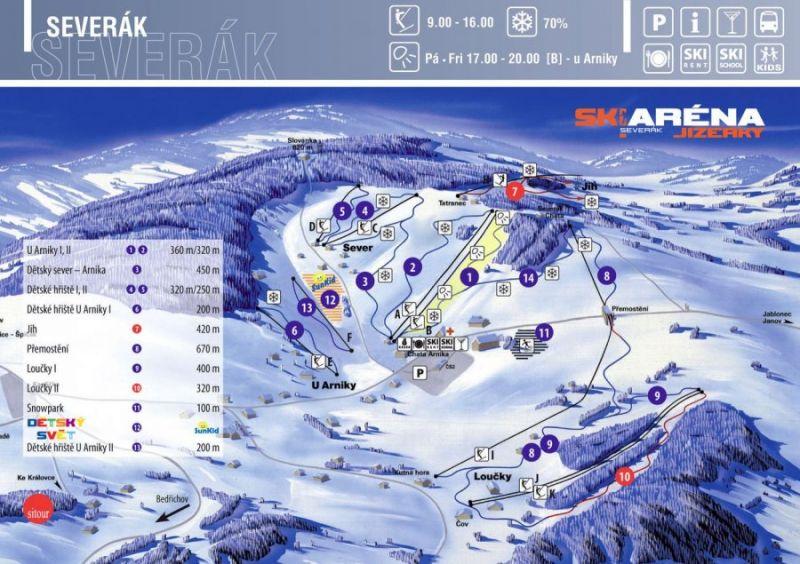 SkiJizerky - Severák