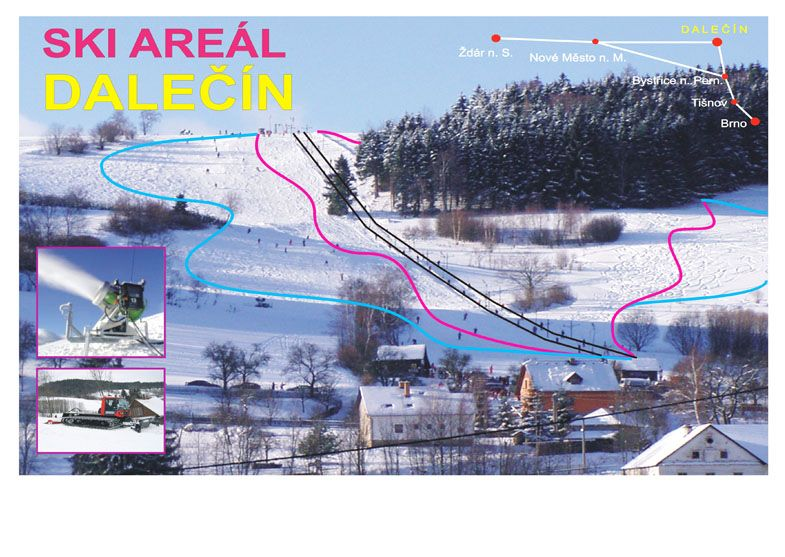 Ski areál Dalečín