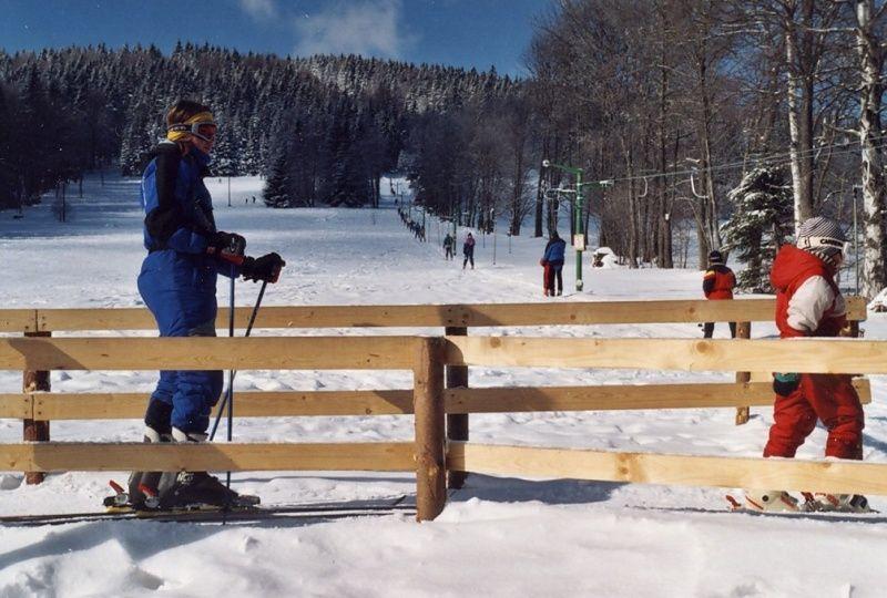 Lyžařský areál Špičák - Deštné