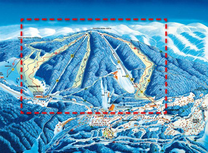 Ski areál Harrachov - Čertova hora